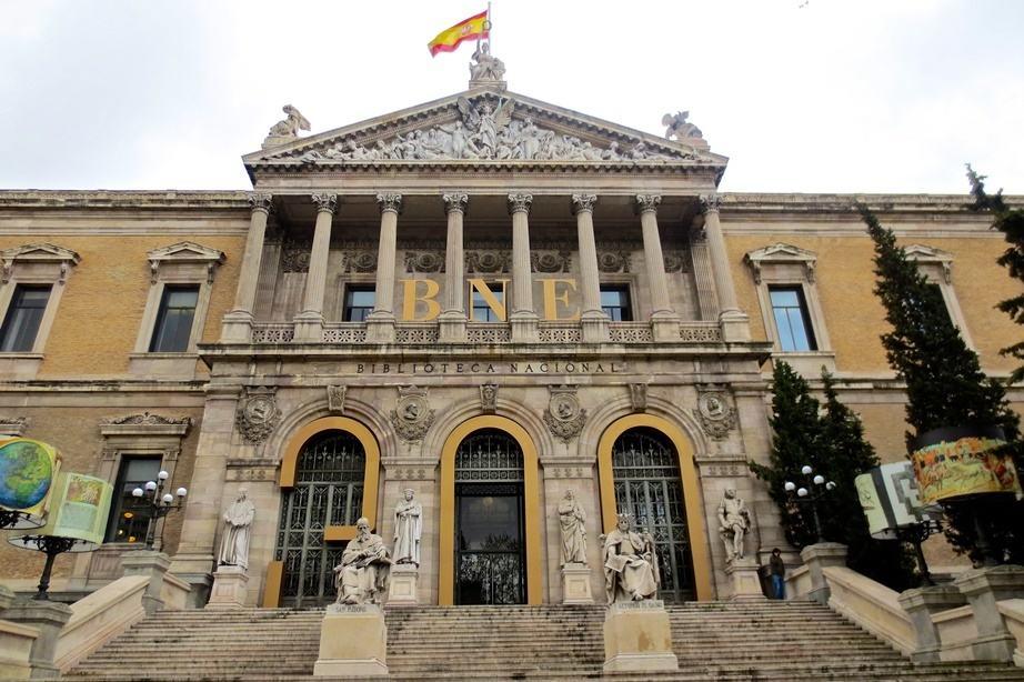 Biblioteca Nacional By Edmund Gall, Wikimedia Commons