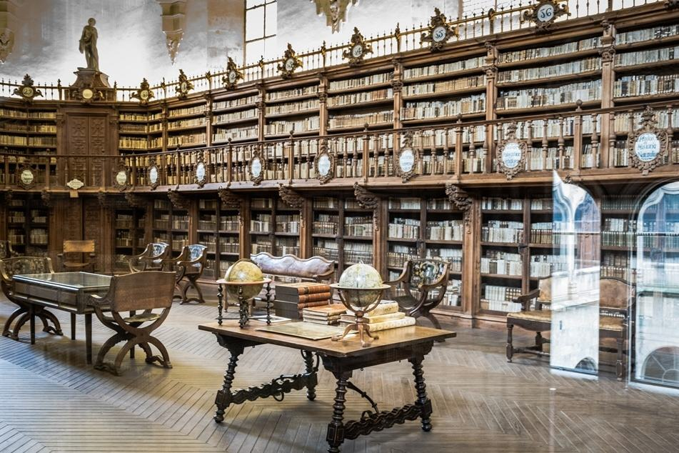 Biblioteca de la Universidad de Salamanca By Carlos Reusser Monsalvez, Wikimedia Commons