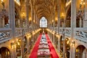 The John Rylands Library Interior by Michael D. Beckwith via Wikimedia Commons