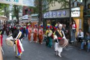 Parade in Insadong Seoul South Korea by Nathan Wilson via Flickr